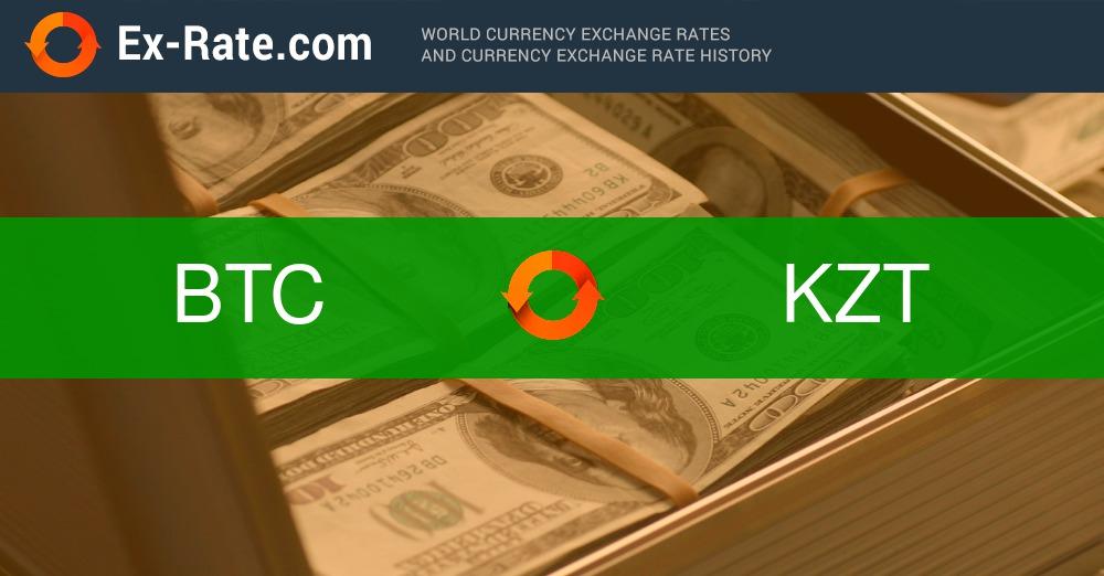 Bitcoin to tenge rate