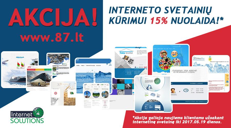 interneto svetainių pajamos