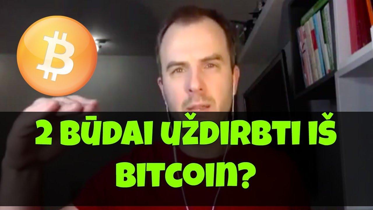 greitas bdas udirbti bitcoins